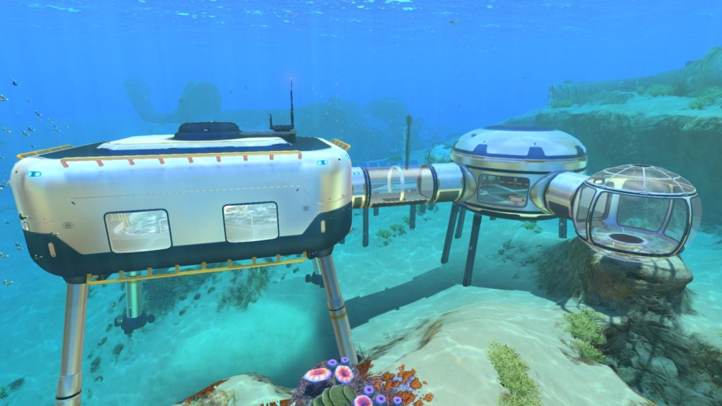 Subnautica Gameplay Screen