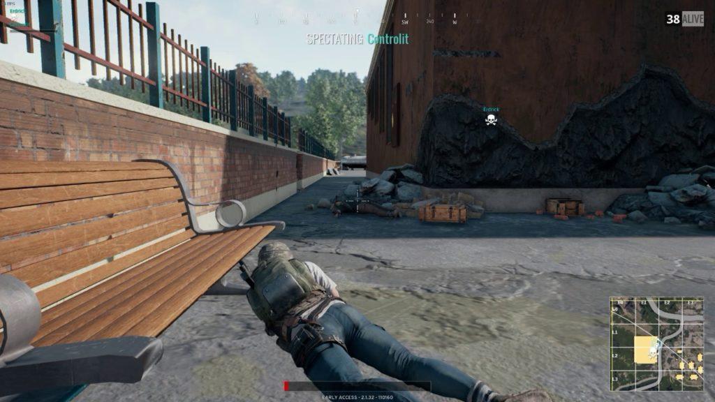 Playerunknowns Battlegrounds Screenshoot