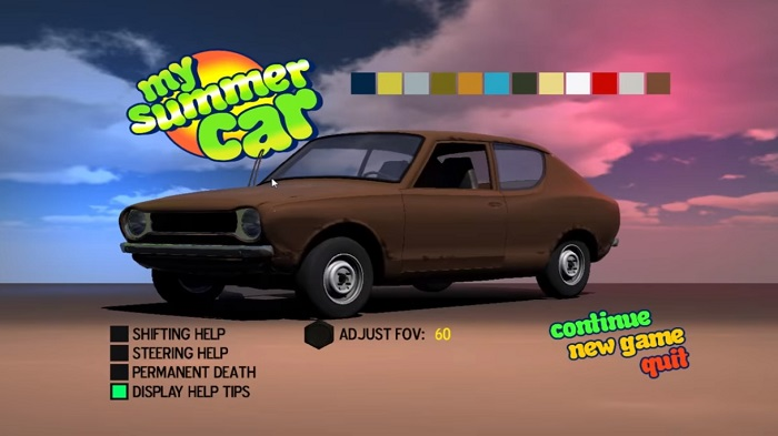 Gameplay My Summer Car