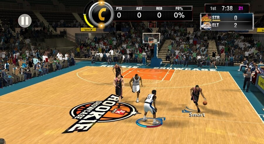 NBA 2K18 Game Screenshot