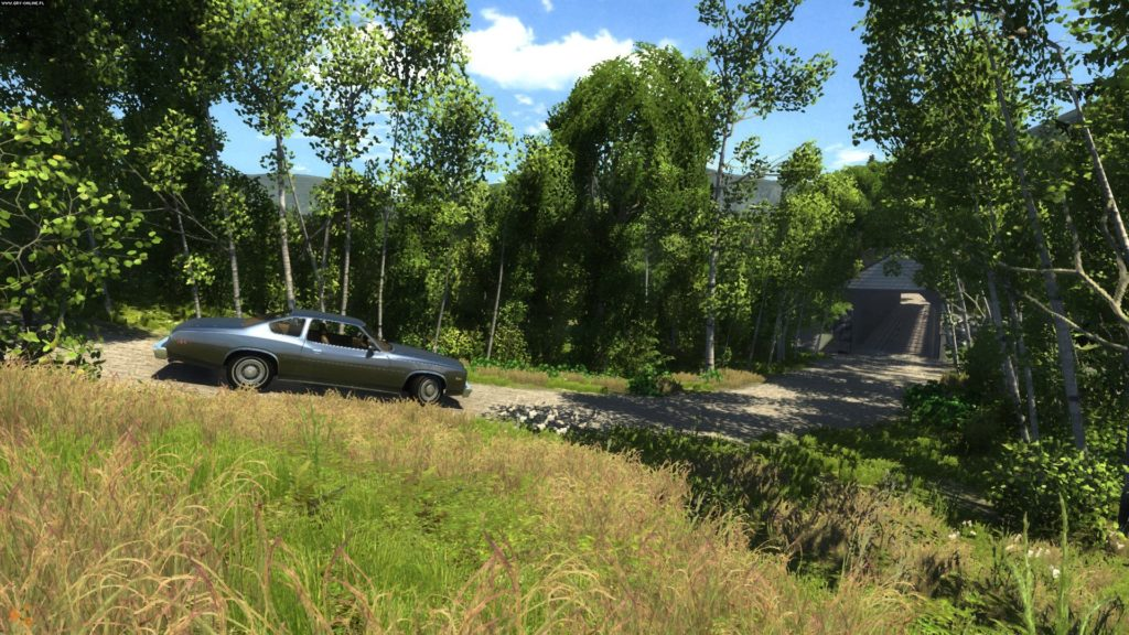 Beamng drive simulator screenshoot