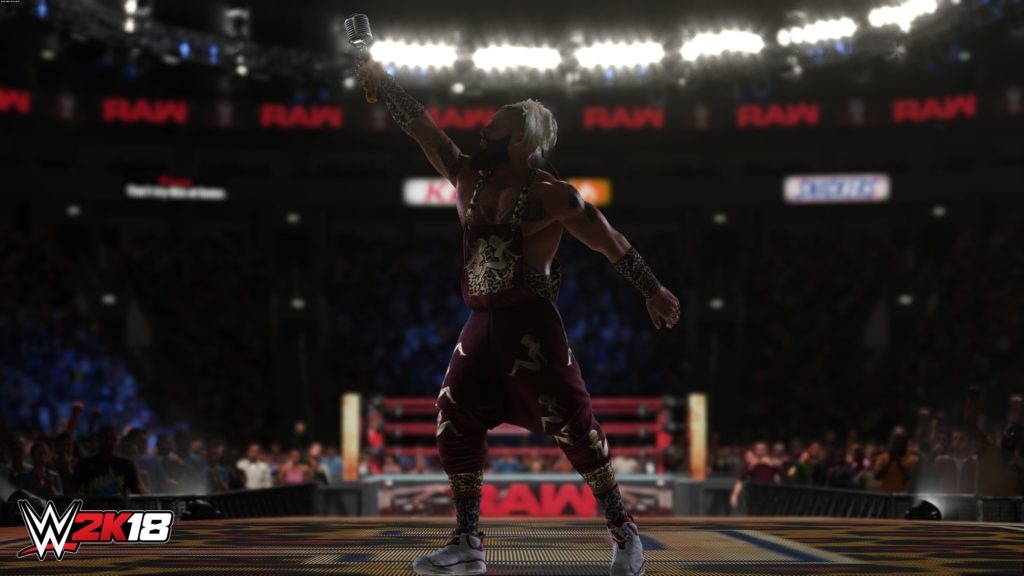 Screenshoot of WWE 2k18