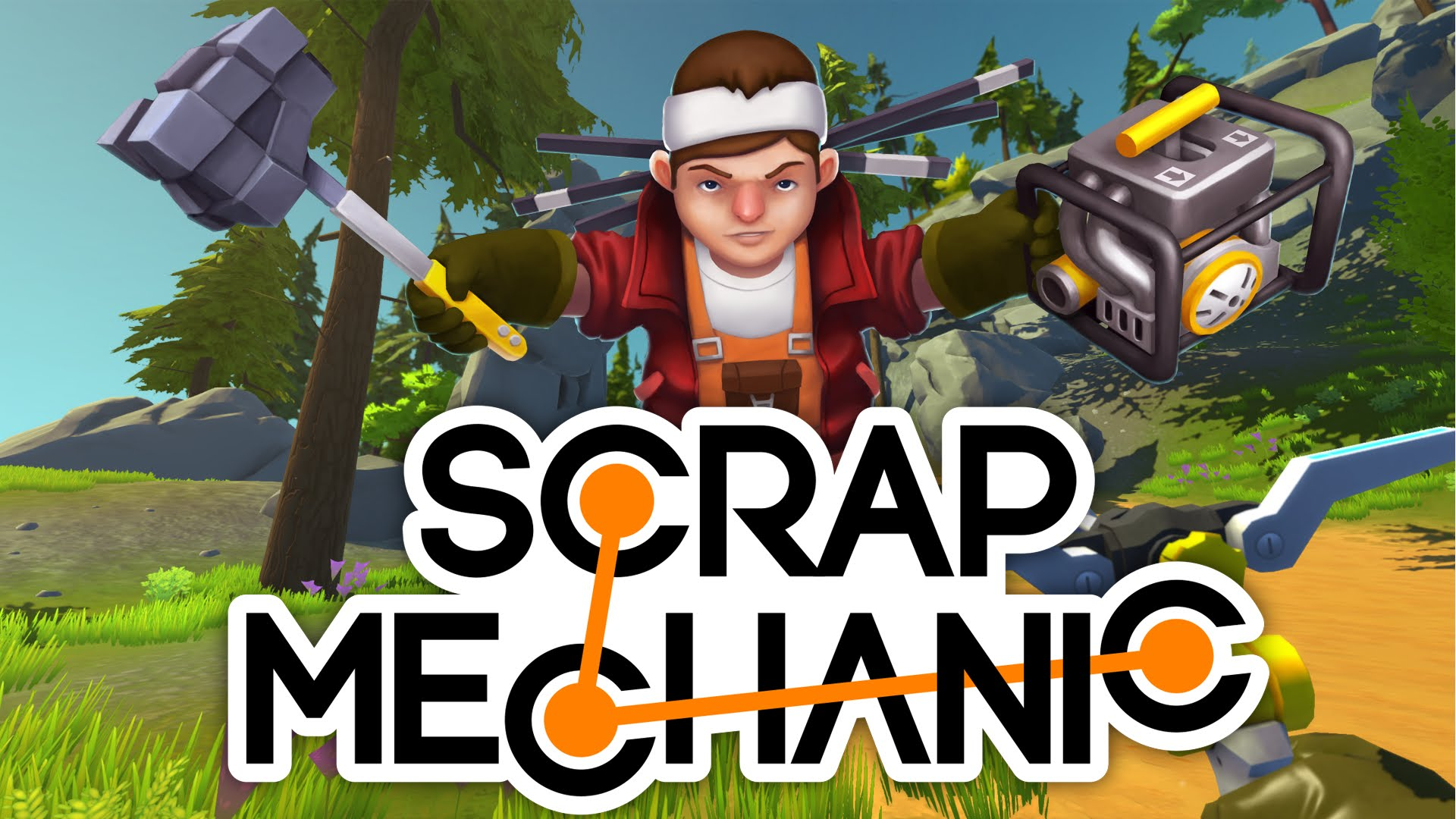 download scrap mechanic free android