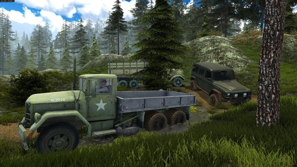 Proffesional Offroad Transport Simulator for free