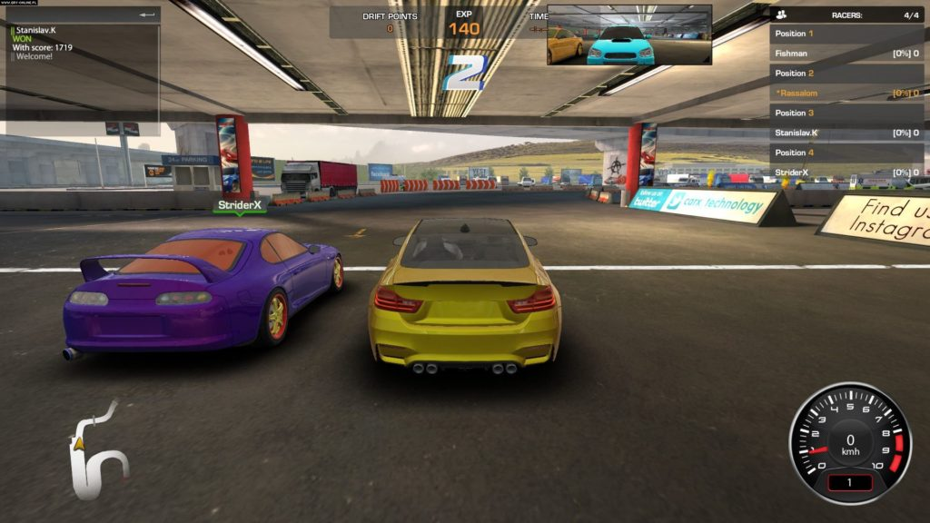 CarX Drift Racing free for pc