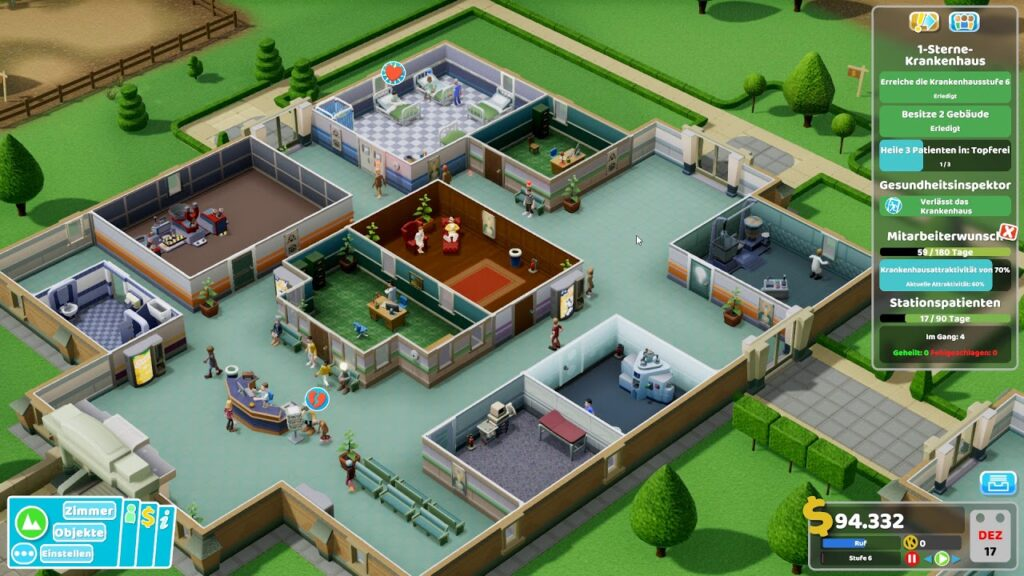 Two point hospital free game